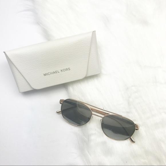20d9bc80b Michael Kors Accessories | Nwt Lon Rounded Aviator Sunglasses | Poshmark